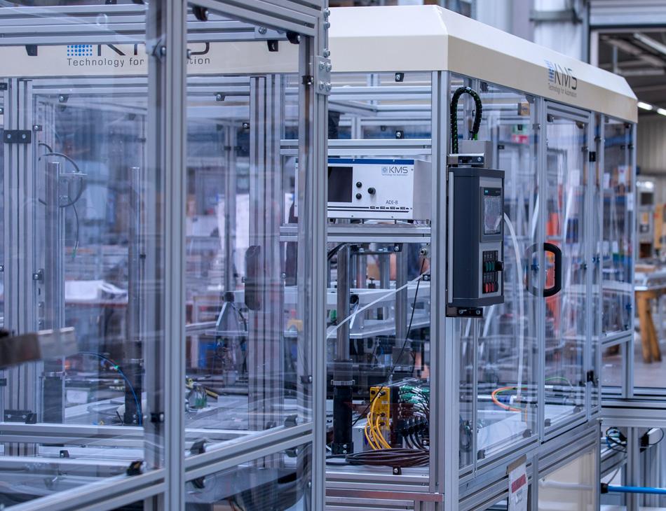 Automatisierung der Maschinen