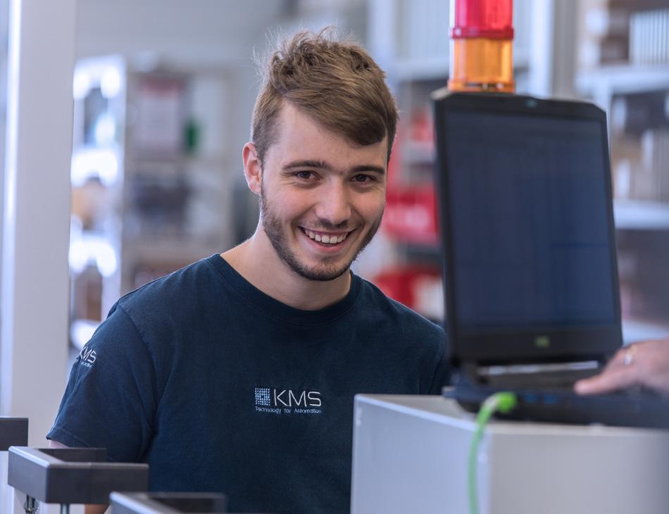 Mitarbeiter von KMS Automation