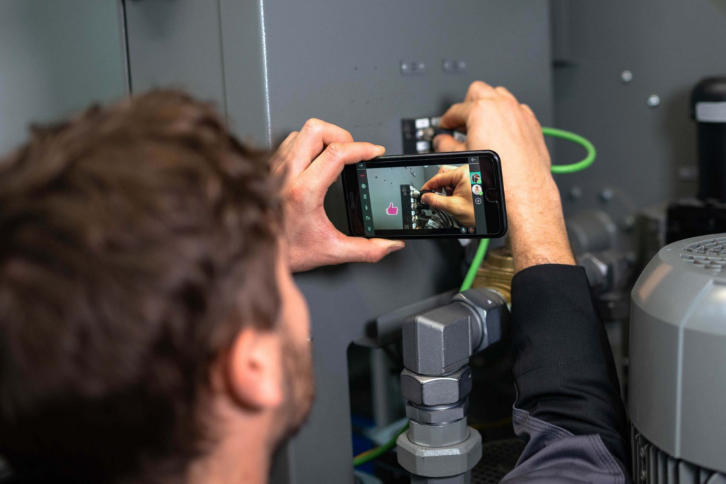 Remote Support mit Augmented Reality auf Smartphon